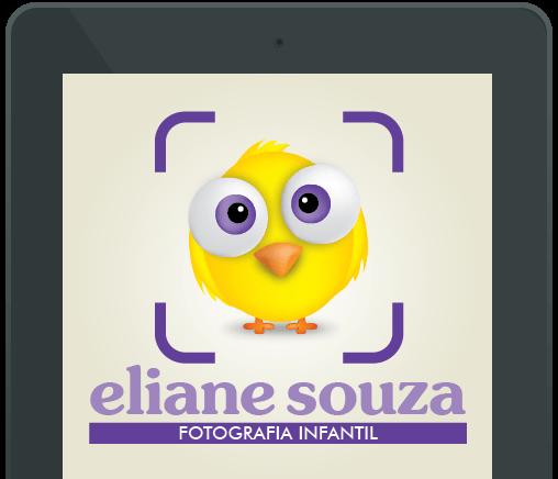 Criação de Logo Eliane souza fotografia Tablet