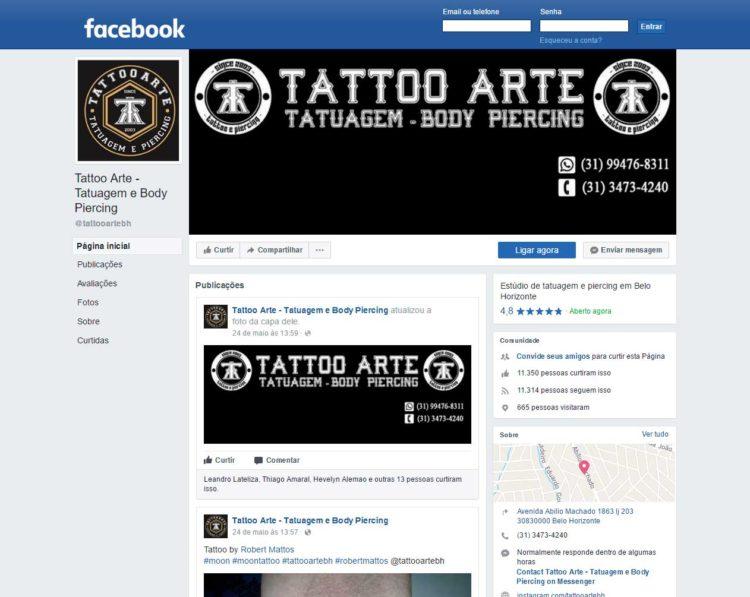 Fanpage Tattoo Arte