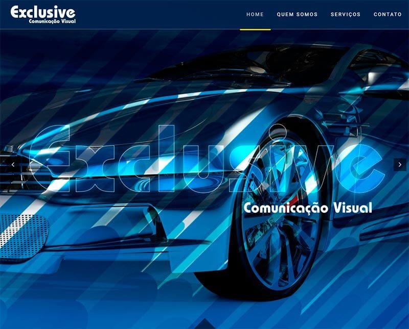 Manutenção de sites Exclusive